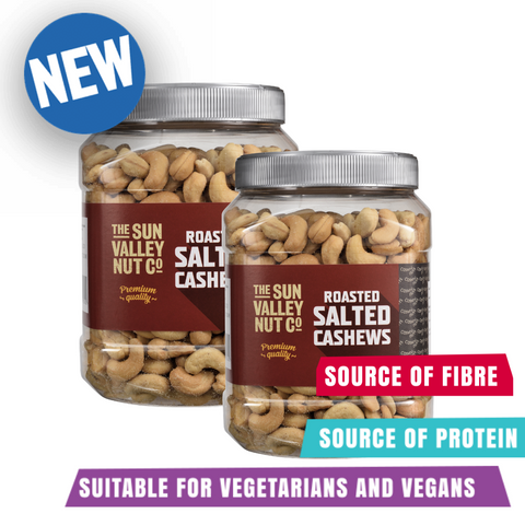 2 x Sun Valley Roasted Salted Cashews 1.1kg  -  BUY 1 GET 1 HALF PRICE