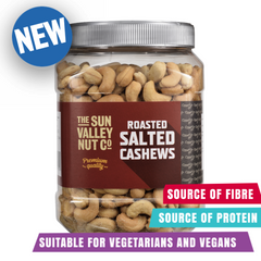 Sun Valley Roasted Salted Cashews 1.1kg