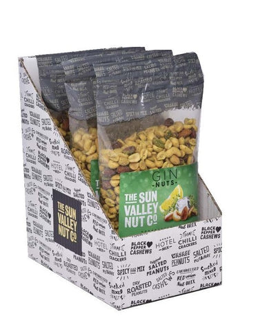 GIN Nuts (Thyme & Lemon Flavour) – 800g x 3 bags per case