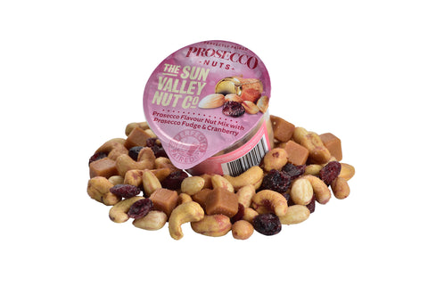 CURRENTLY UNAVAILABLE - Prosecco Nuts – 50g x 24 pots per case
