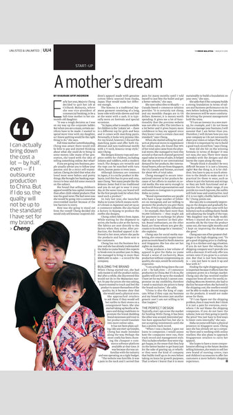 The Edge Malaysia - A mother's dream