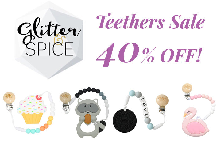 Teethers Sale 40% Off