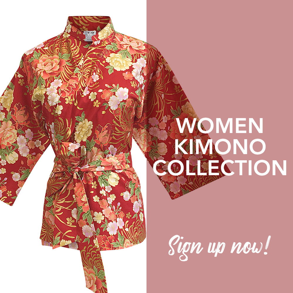 Sign up for VIP Invite to Shop our Women Kimono Collection