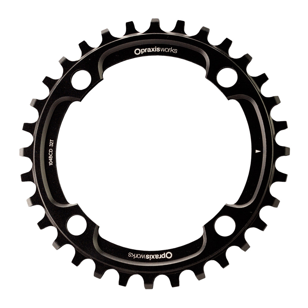 MTN 104BCD STEEL E-Bike Rings