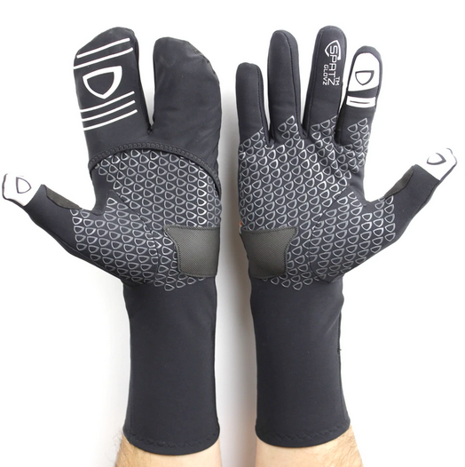 "SPATZ ""GLOVZ"" Race Gloves with fold-out wind blocking shell"