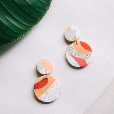 Tropical Landscapes Earrings