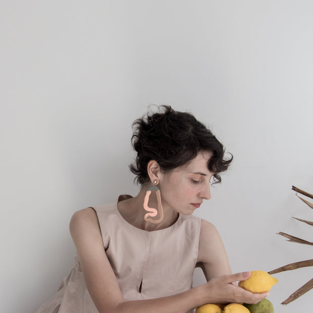 Gauguin Earrings, a creative and relaxing activity in Singapore - Longue Vue Design