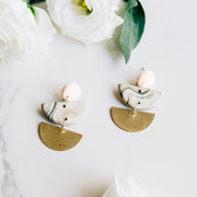Demi Lune Dangle Earrings