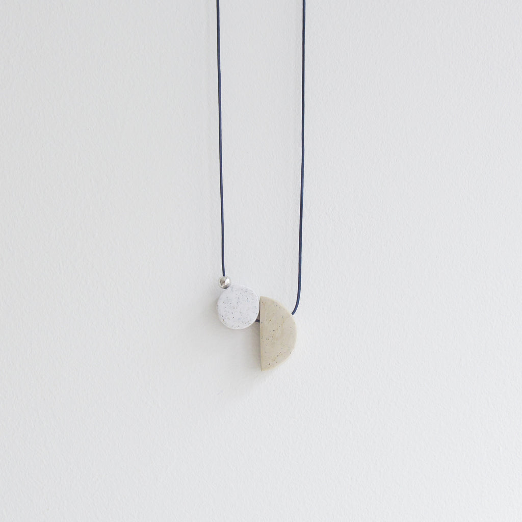Saga silver Necklace - Longue Vue Design