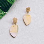 Tropical Abstract Landscapes Earrings #2