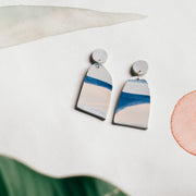 Abstract Landscapes Earrings #2