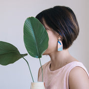 Abstract Landscapes Earrings #7