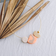 Stillleben necklace Gauguin, a creative and relaxing activity in Singapore - Longue Vue Design
