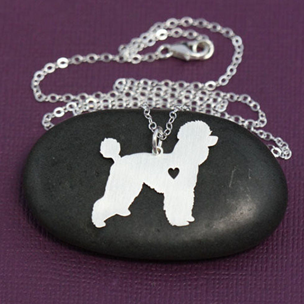 Shih Tzu Necklace Pet Lover Jewelry Silver Dog Charm Pets Shi Tzu Dog Lover Gift Pet Name Personalized Dog for lovers