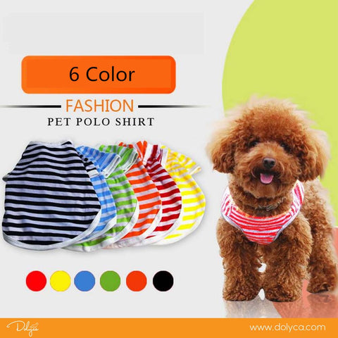 Summer Dog Clothes - Pets Colorful Blouses