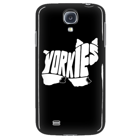 Yorkie style Phone Cases