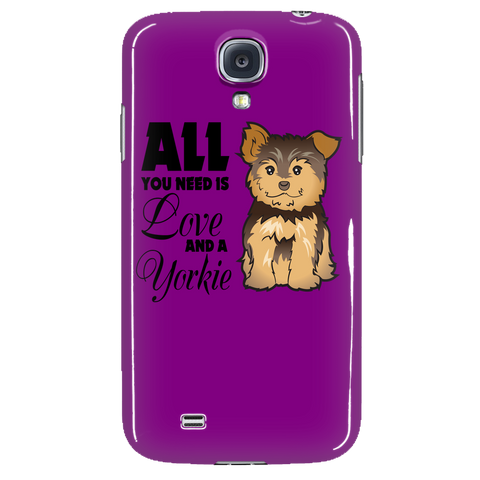 All you need is love and a Yorkie Phone Cases