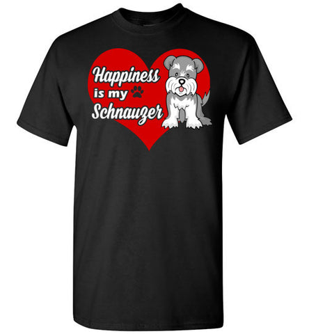 Happiness is my schnauzer
