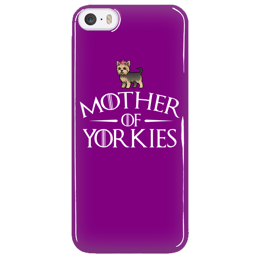 Mother Of Yorkies Phone Cases