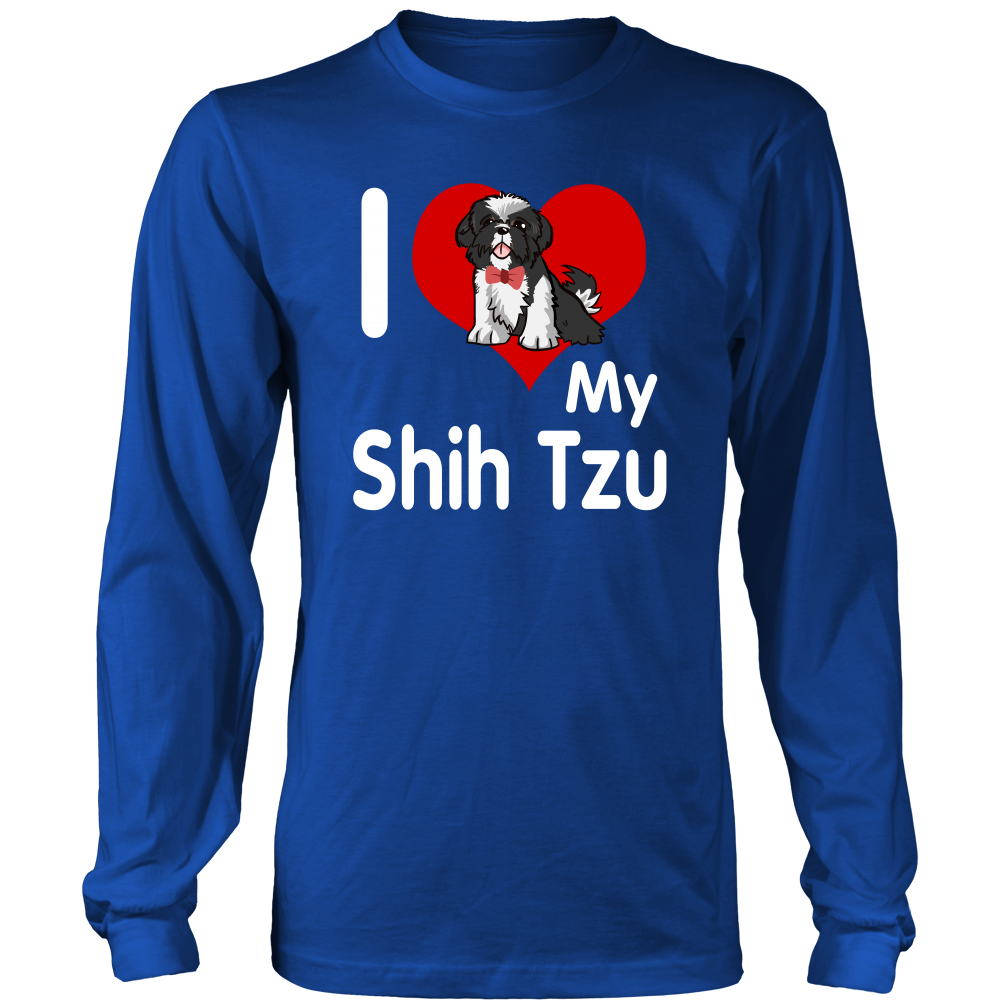 I love my shih tzu T shirt