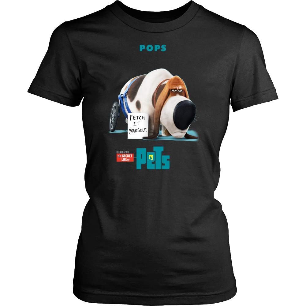 The secret life of pets pops T shirt