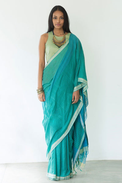 Caribbean Wave Saree - Saree Safari, Buy