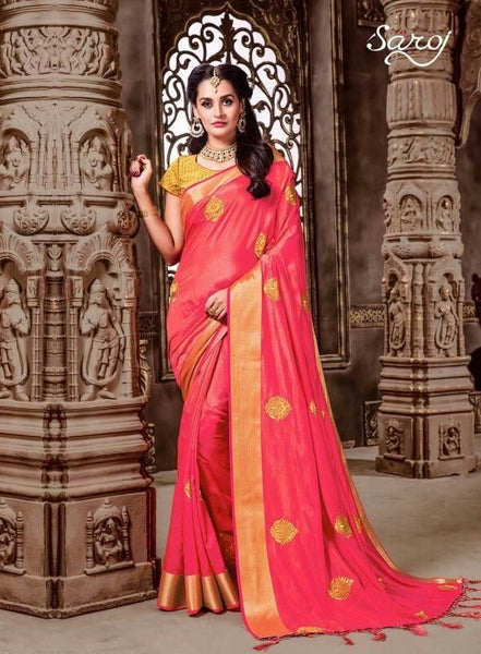 Designer Silk  Saree - Saree Safari, Buy