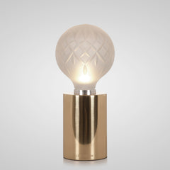 Crystal Bulb Table Lamp