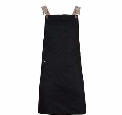 Dungaree Buckles Cross over BLACK - DUNGAREEBLK