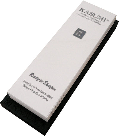 KASUMI COMBINATION CERAMIC WHETSTONE 5000/10000 - Ace Chef Apparels