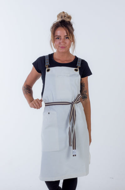 Denim apron Ivory Fisher