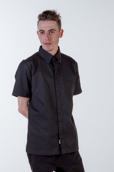 CHEF SHIRT BLACK
