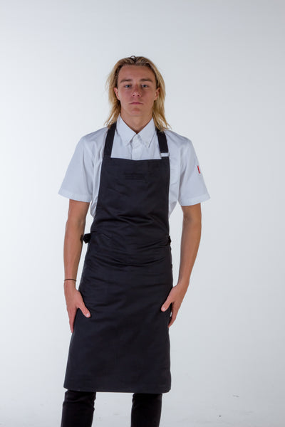 Strapless Black Chef Aprons Press