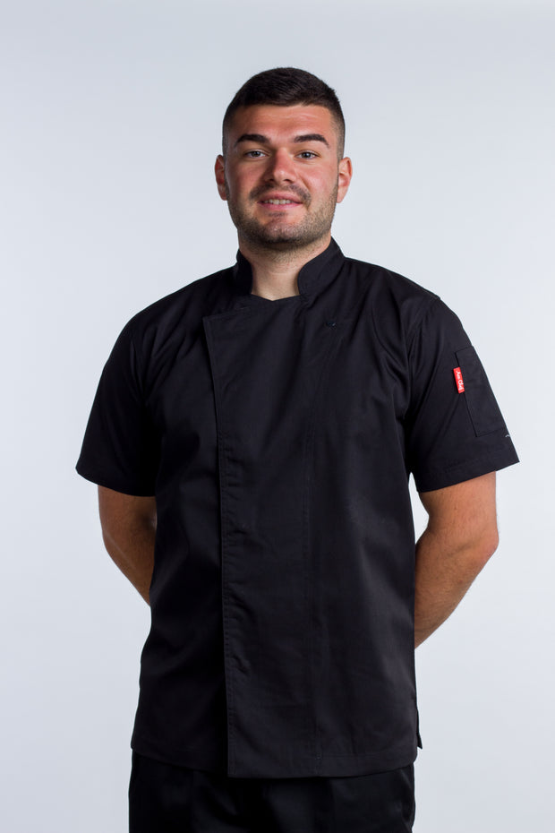 Tunic Black Chef Coat