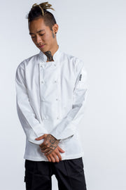 Generic Long Sleeves White Chef Jacket