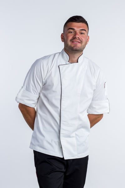 Executive white chef jacket No Coolvent cove