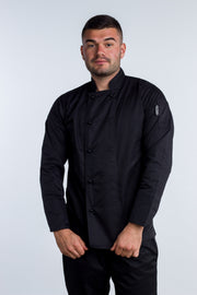 Generic Long Sleeves Black Chef Jacket