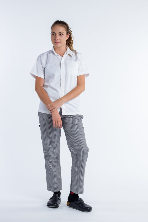 CHECKED - Drawstring Chef Pants