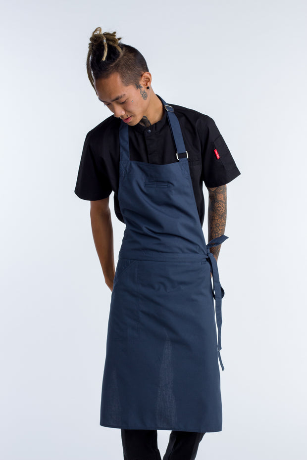 NICHE - CHEF BIB APRON - BLUISH GREY - 2 sizes