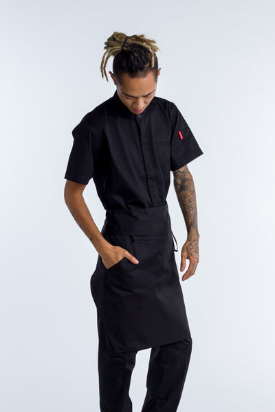 Waist Apron Black - 2 Sizes