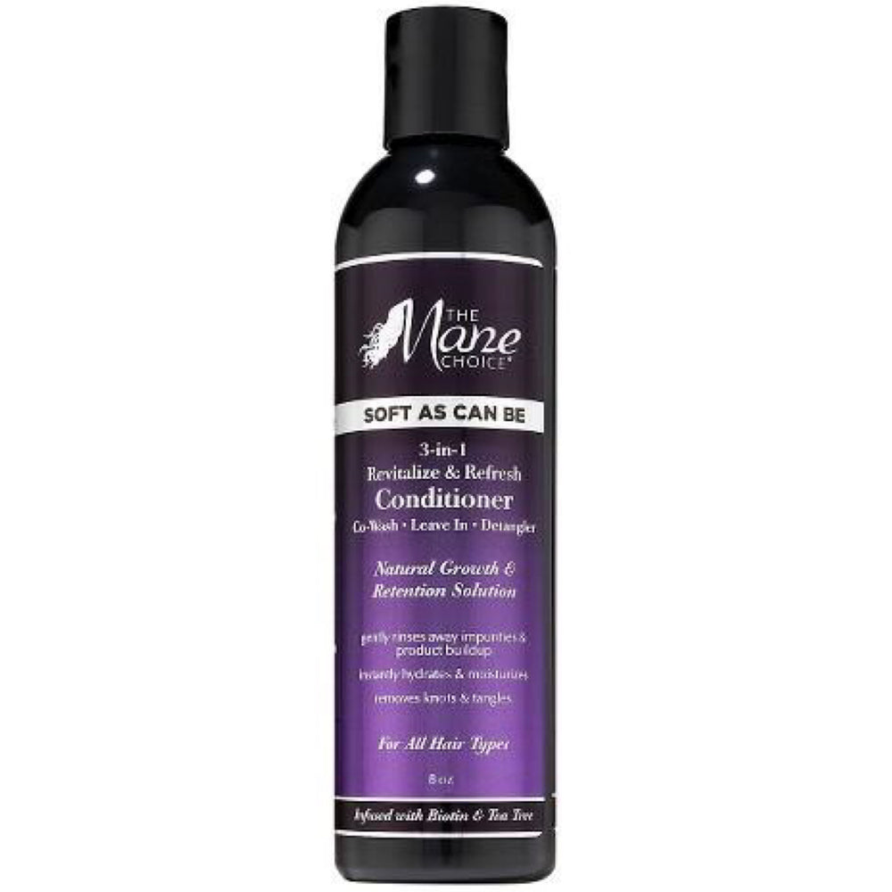 The Mane Choice 3 In 1 Revitalise And Refresh Conditioner Co Wash Leave In Detangler 8oz