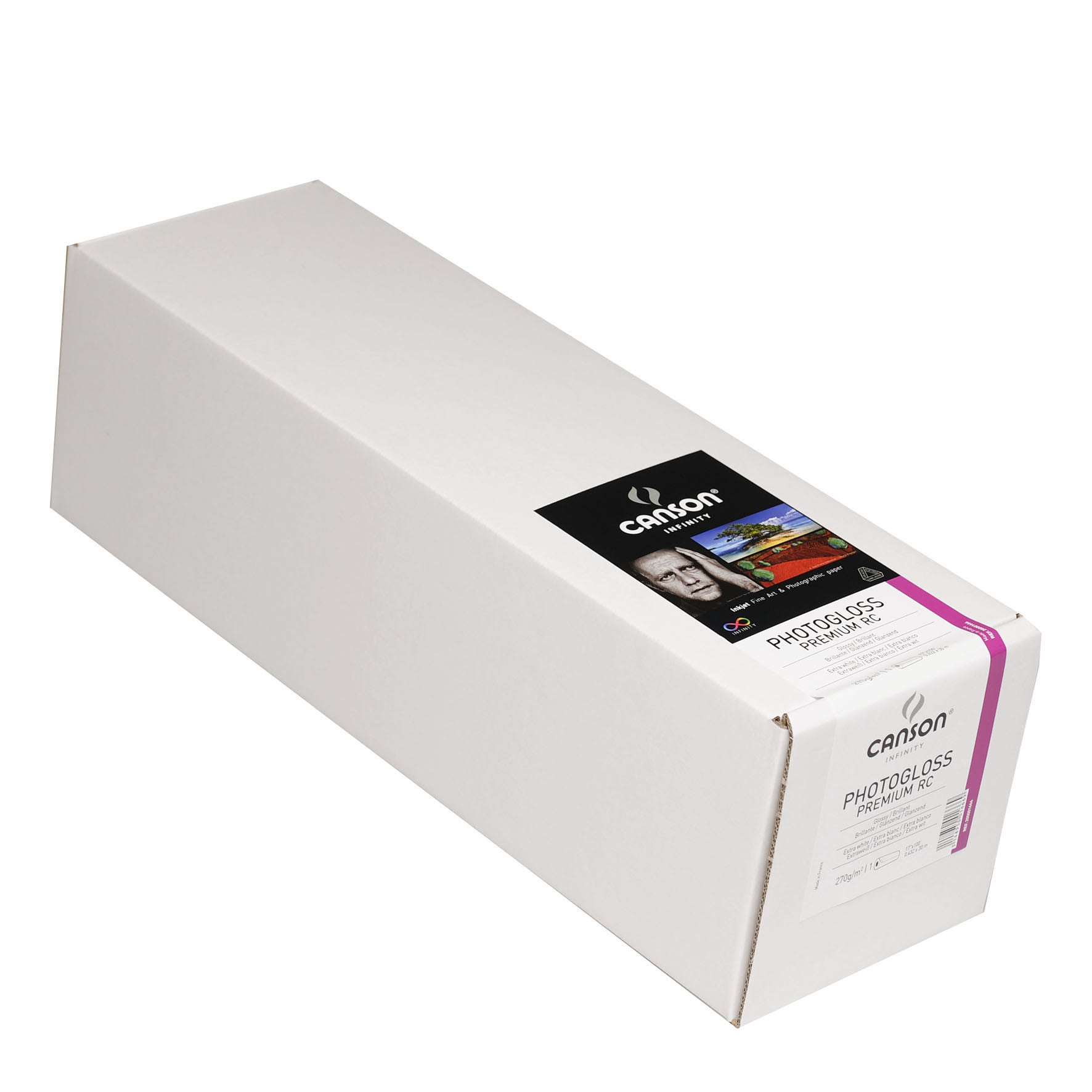 "Canson Infinity Photo Gloss Premium RC - 270gsm - 17""X100' roll"