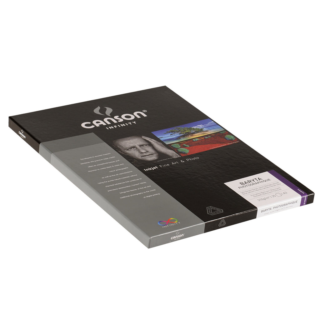 Canson Infinity Baryta Photographique - 310gsm - A3 - 25 sheets - Wall Your Photos