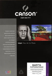Canson Infinity Baryta Photographique - 310gsm - A3+ - 25 sheets - Wall Your Photos
