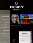 Canson Infinity Baryta Photographique - 310gsm - A4 - 25 sheets - Wall Your Photos