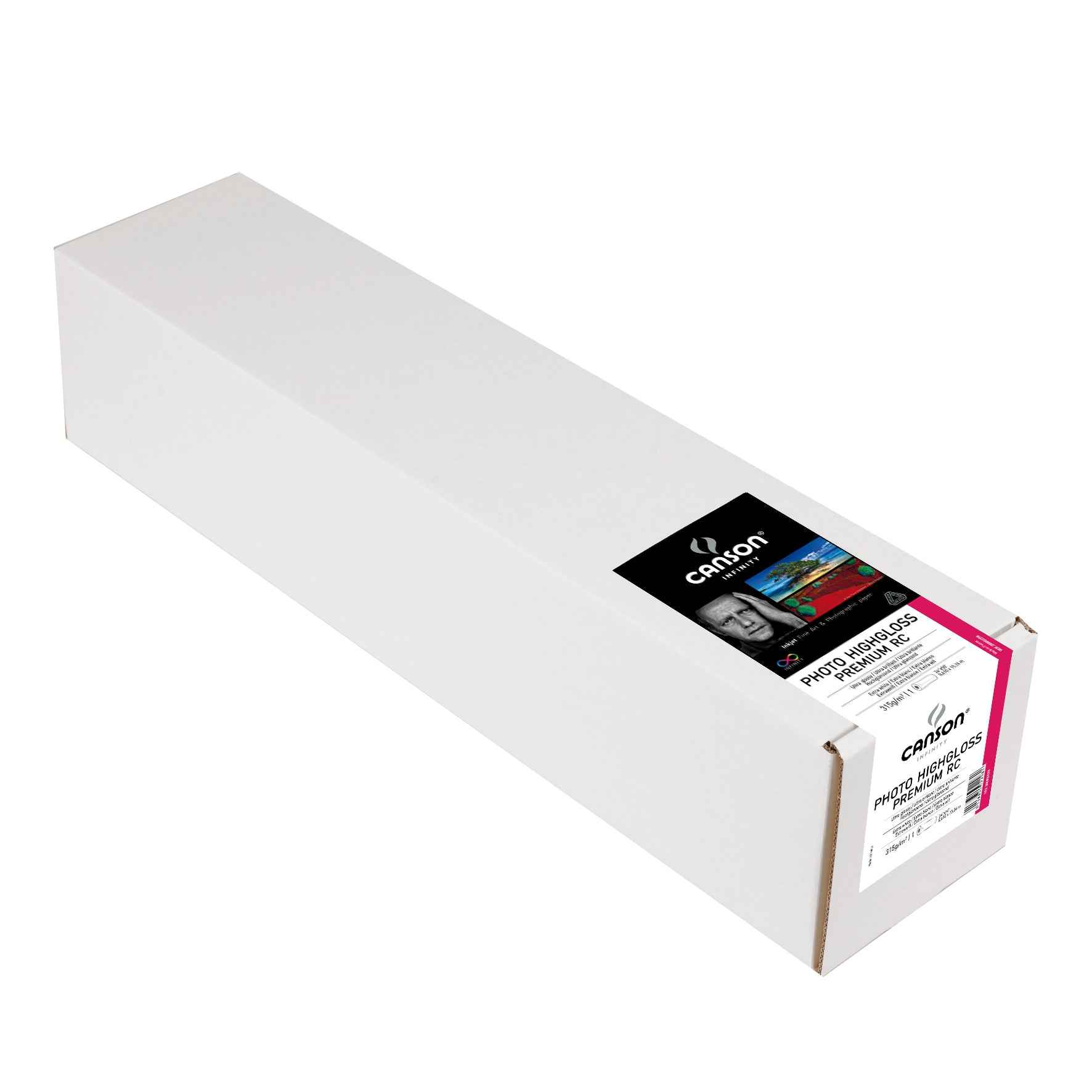 "Canson Infinity Photo Gloss Premium RC - 315gsm - 24""x50' roll"