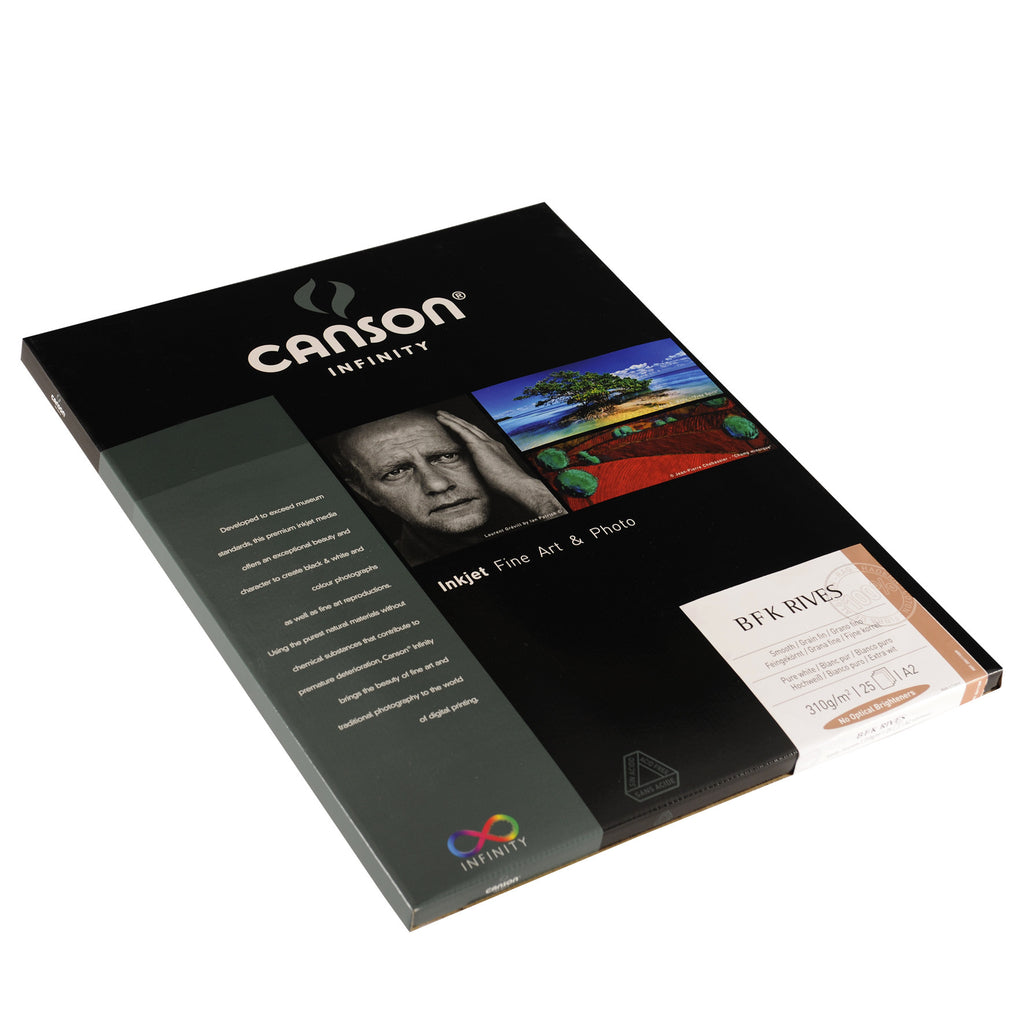 Canson Infinity PrintMaKing Rag (BFK Rives) - 310gsm - A2 (25 sheets) - Wall Your Photos