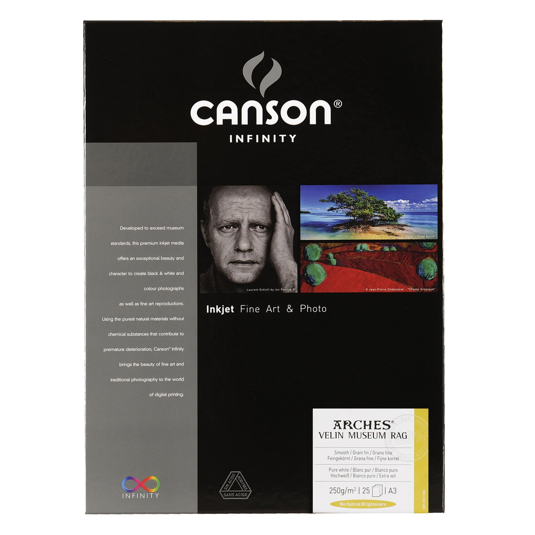 Canson Infinity Velin Museum Rag - 250gsm - A3 (25 sheets)