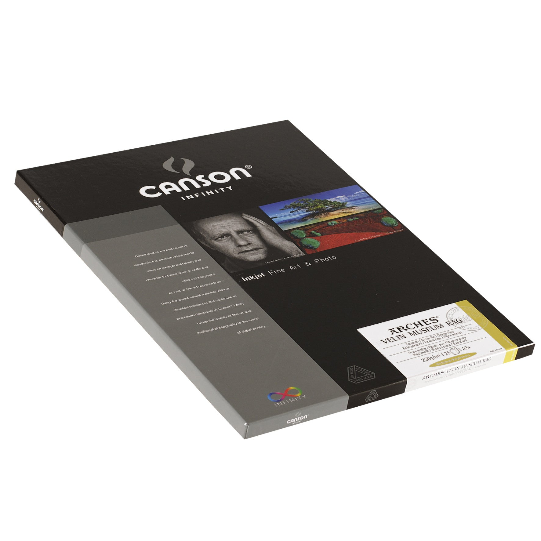 Canson Infinity Velin Museum Rag - 250gsm - A3+ (25 sheets)