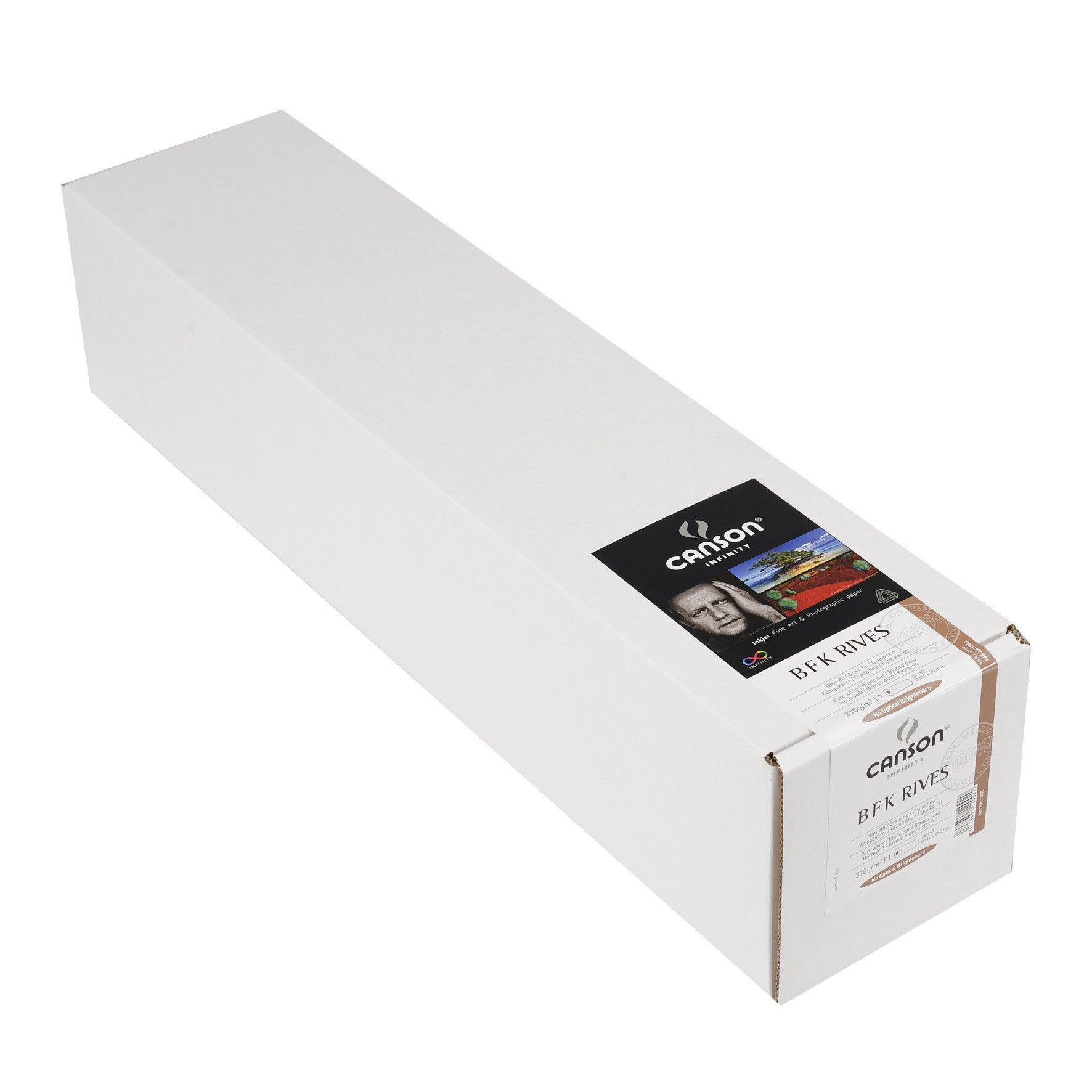 "Canson Infinity PrintMaKing Rag (BFK Rives) - 310gsm - 24""x50' roll - Wall Your Photos"